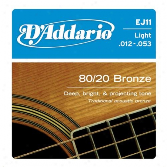 D'addario Ej11 Set Light 12-53