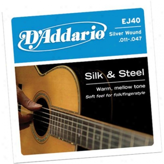 D'addario Ej40 Light 11-47 Acoustic Guitar Strings