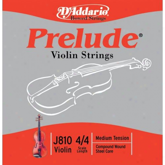 D&#039;addario J810 4/4 Climb Violin Strings