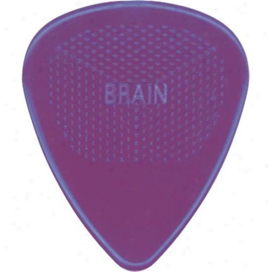 D'andrea Snarlijg Dogs Brain Guitar Picks And Tin Box 1 Dozen .60mm - Purple
