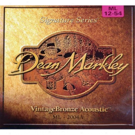 Dean Markley 2004 Vintagebronze Acoustic Strings - Ml