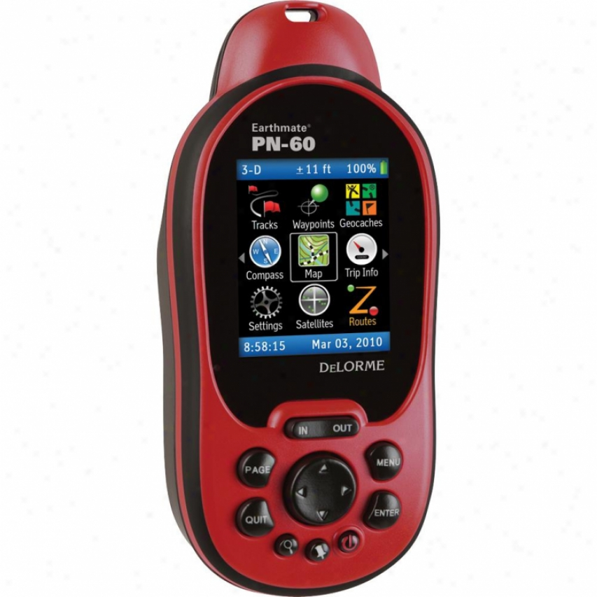 "Delorme Mapping Earthmate Pn-60 2.2"" Handheld Gps"