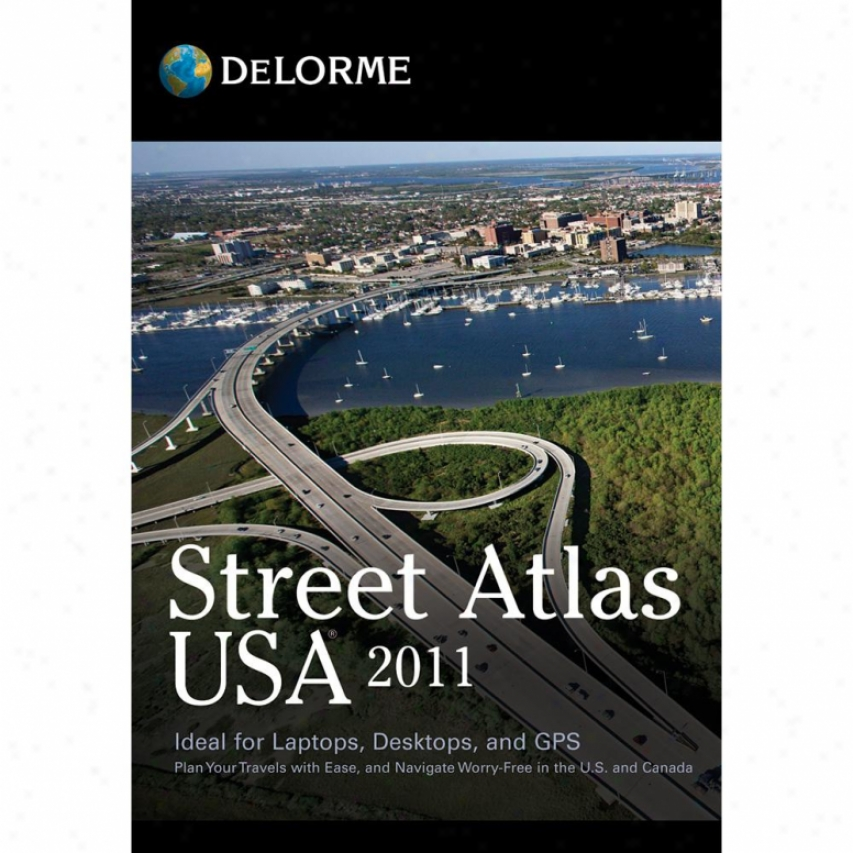 Delorme Mapping Street Atlas Usa 2011 Software - Windows