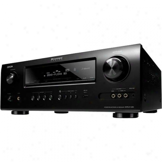 Denon 7.1 Channel Audio-video Home Theater Receiver Avr-2112ci
