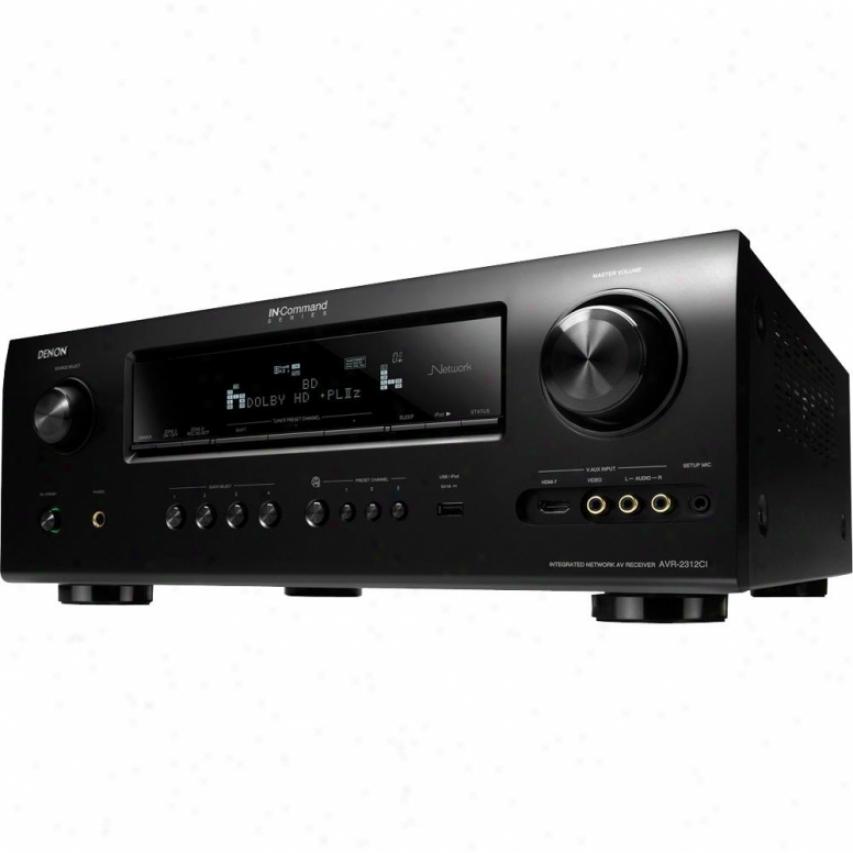 Denon 7.1 Avenue Audio-video Home Theater Receiver Avr2312ci