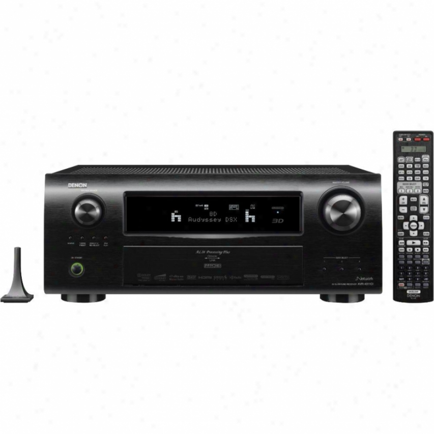 Denon 7.2 Channel A/V Network Home Theater Receiver AVR ...