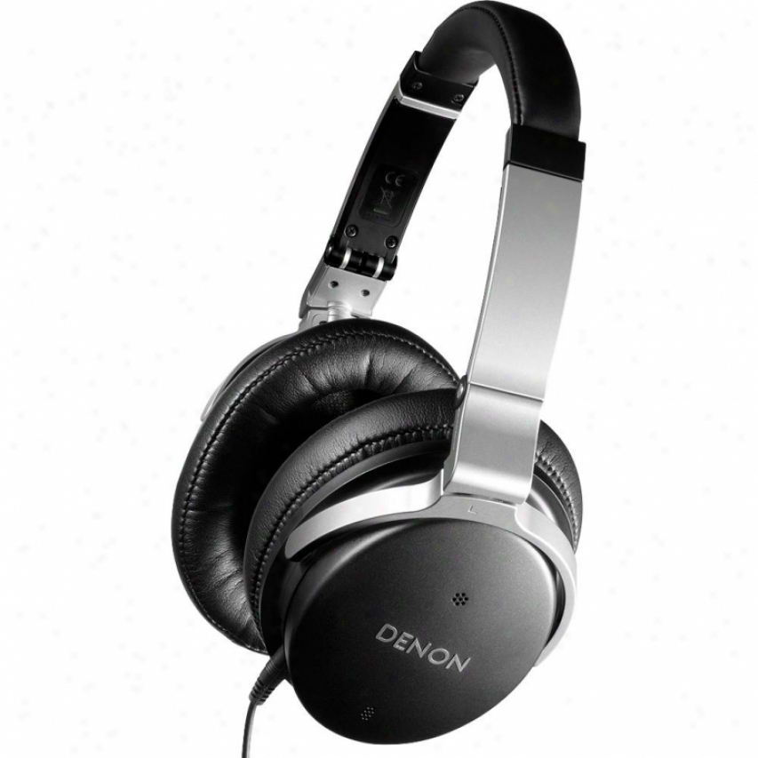 Denon Ah-nc800 Operative Noise Cancelling Over-ear Headphones - Black