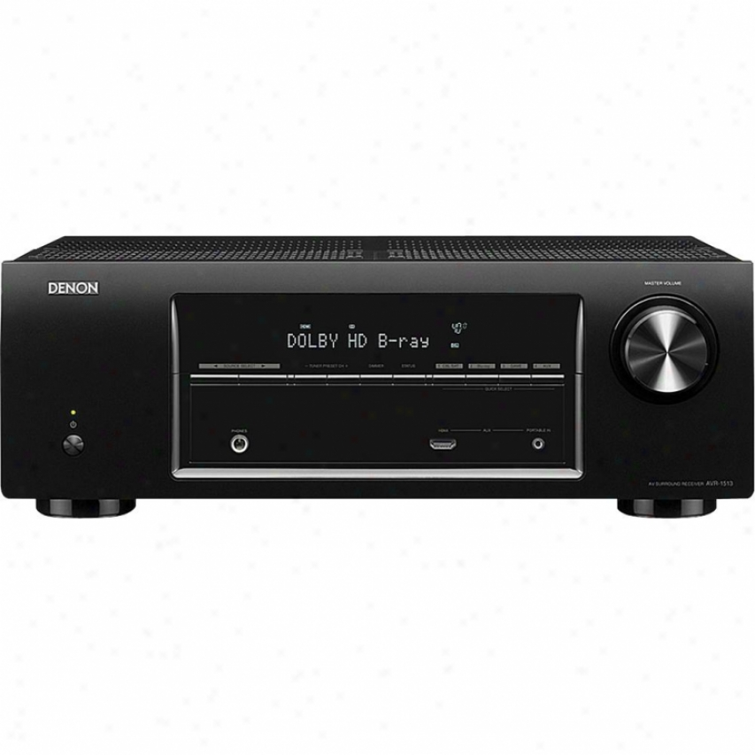 Denob Avr-1513 5.1 Channel A/v Home Theater Receiver