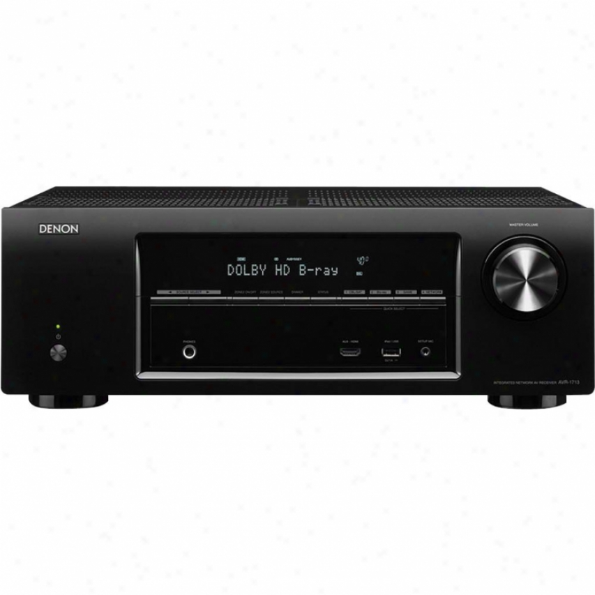 Denon Avr-1713 5.1 Water-course 3d Ready A/v Ne5working Home Theater Receiver