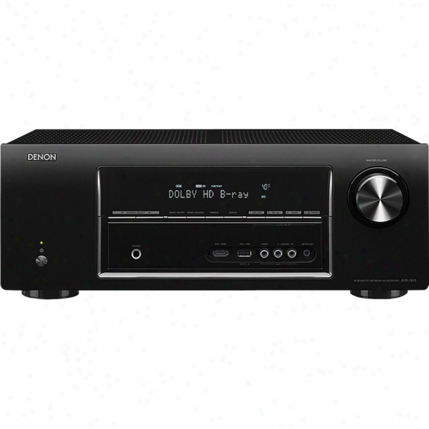Denon Avr-1913 7.1 Channel 3d Ready A/v Networking Home Theater Receiver