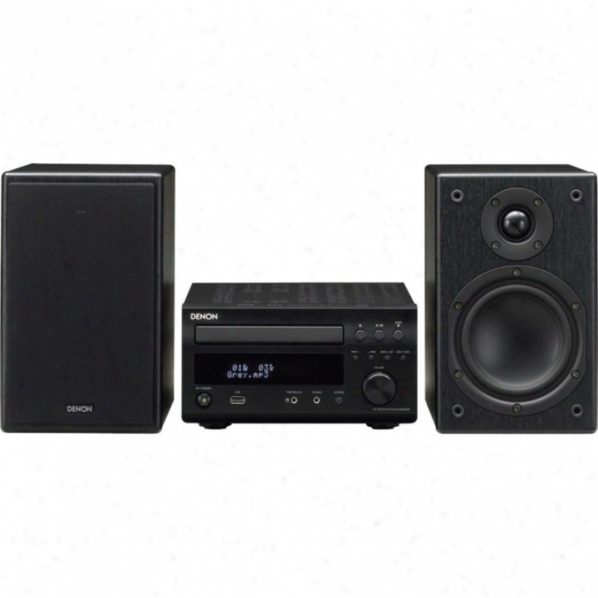 Denon Dm38 Mini Stereo Sund System - Black