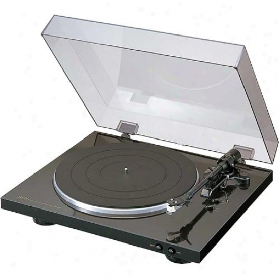 Denon Fully Self-moving Turntable Dp-300f
