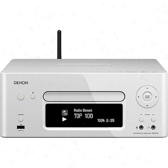 Denon Rcd-n7 Netting Cd Receiver - White