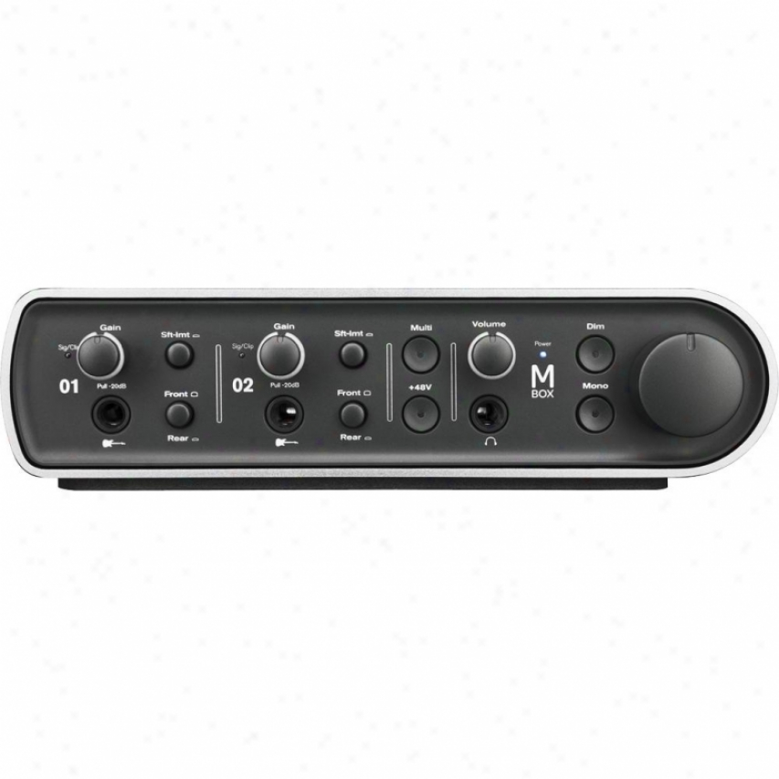 Digidesign Avid Mbox 3 High-performance 4x4 Audio Interfce Mac / Succeed.