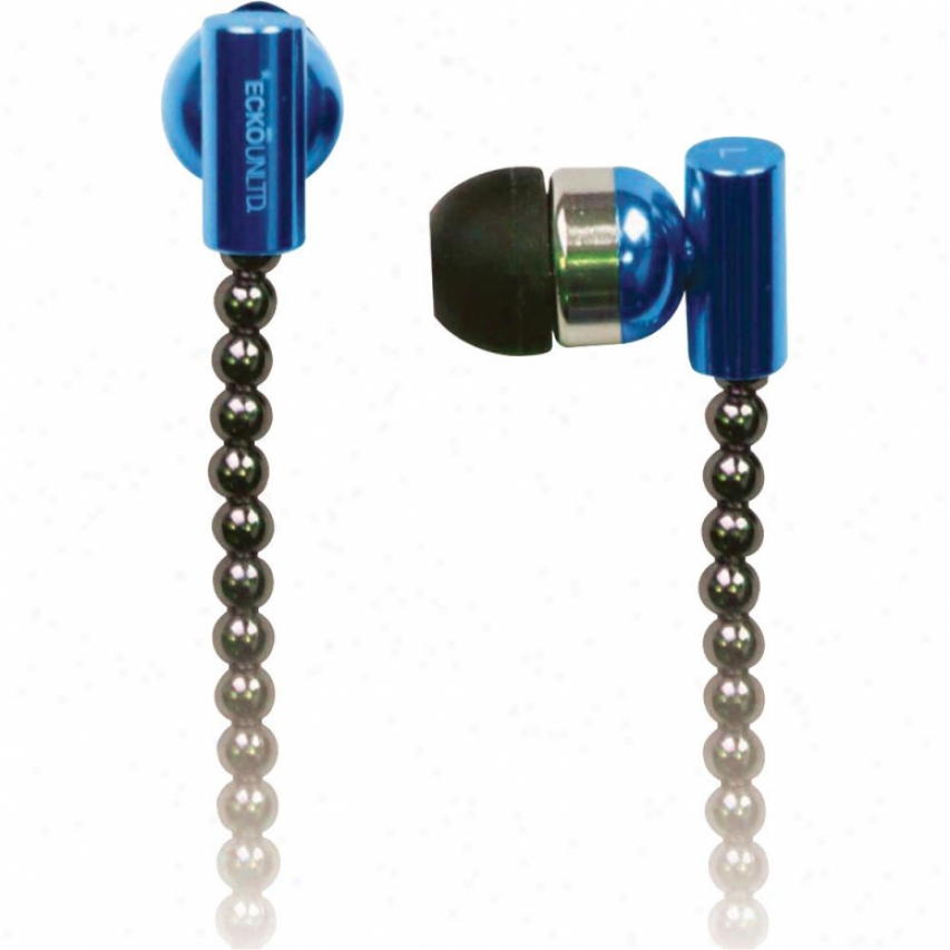Digipower Solutions Ecko Chain Blue Earbud + Mic