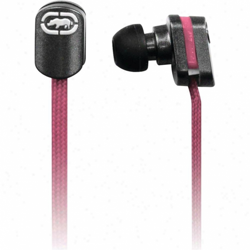 Digipower Solutions Ecko Lace Pink Earbud + Mic