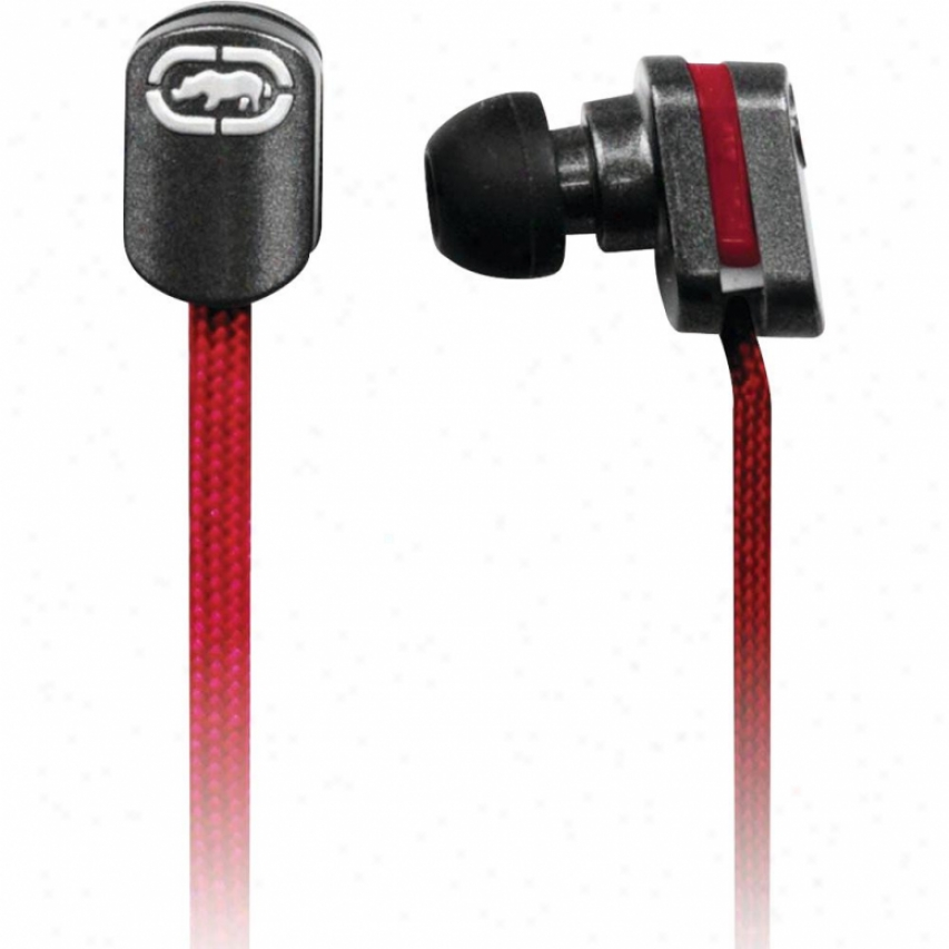 Digipower Solutions Ecko Lace Red Earbud + Mic