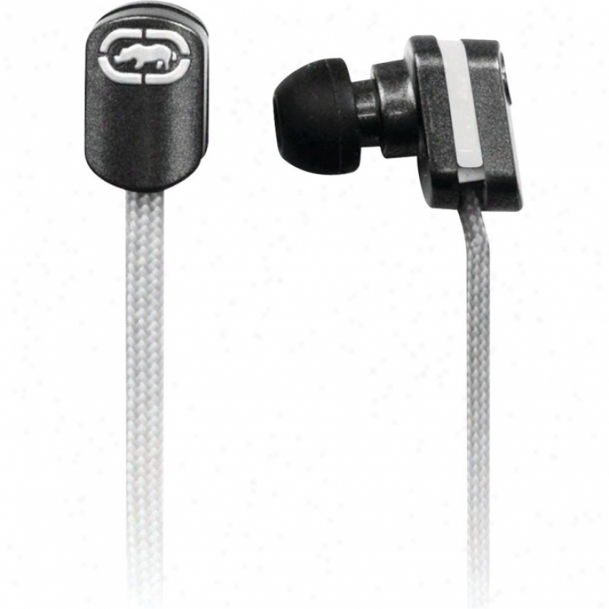 Digipower Solutions Ecko Lace White Earbud + Mic