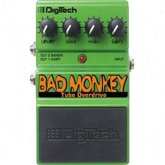 Digitech Dbm Bad Monkey Tube Overdrive Pedal