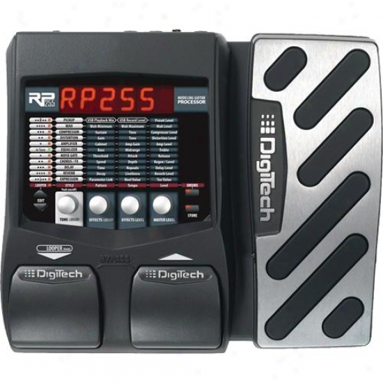 Digitech Rp255 Guitar Multi Effects Processor