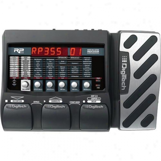Digitech Rp355 Guitar Multi Effects Processor