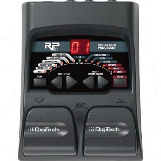 Digitech Rp55 Guitar Processor