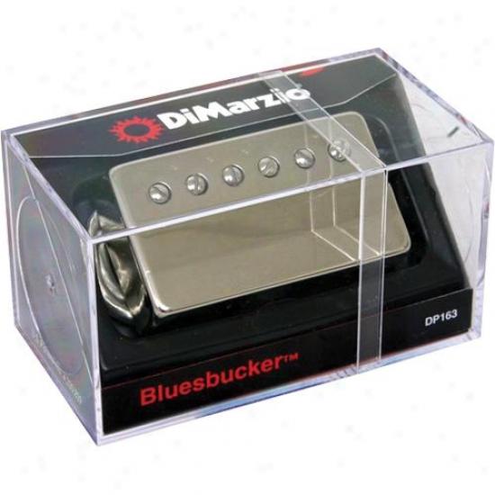 Dimarzio Bluesbucker Humbucking Guitar Pickup W/ Nickel Cover - Dp163n
