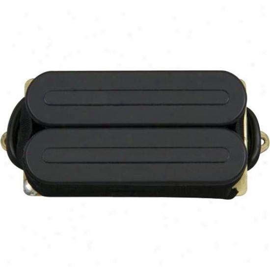 Dimarzio D Activator-x Guitar Pickup - Black - Dp221bk