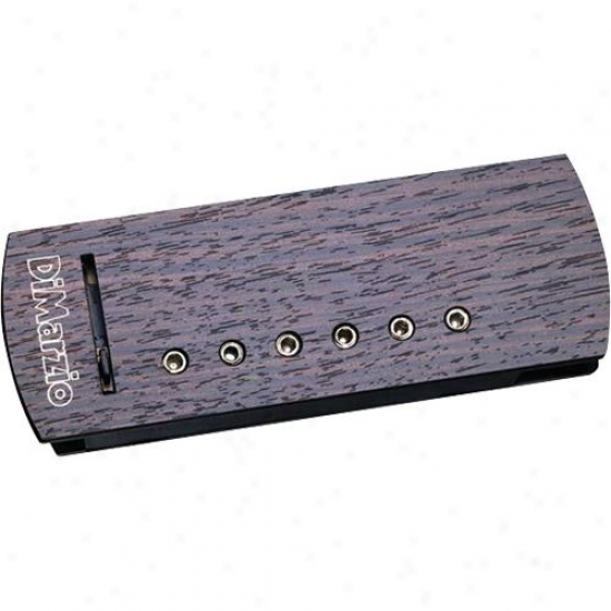 Dimarzio Dp136 Super Natural Plus Acoustic Pickup - Rosewood