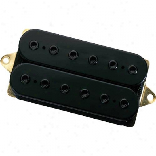 Dimarzio Dp151fbk Paf Pro Pickup F Spaced - Black