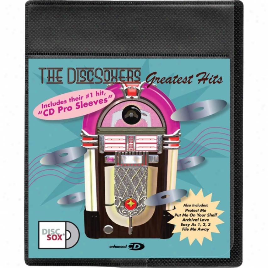 Discsox Cd Pro Sleeves - 25-pack - 25pcdpp