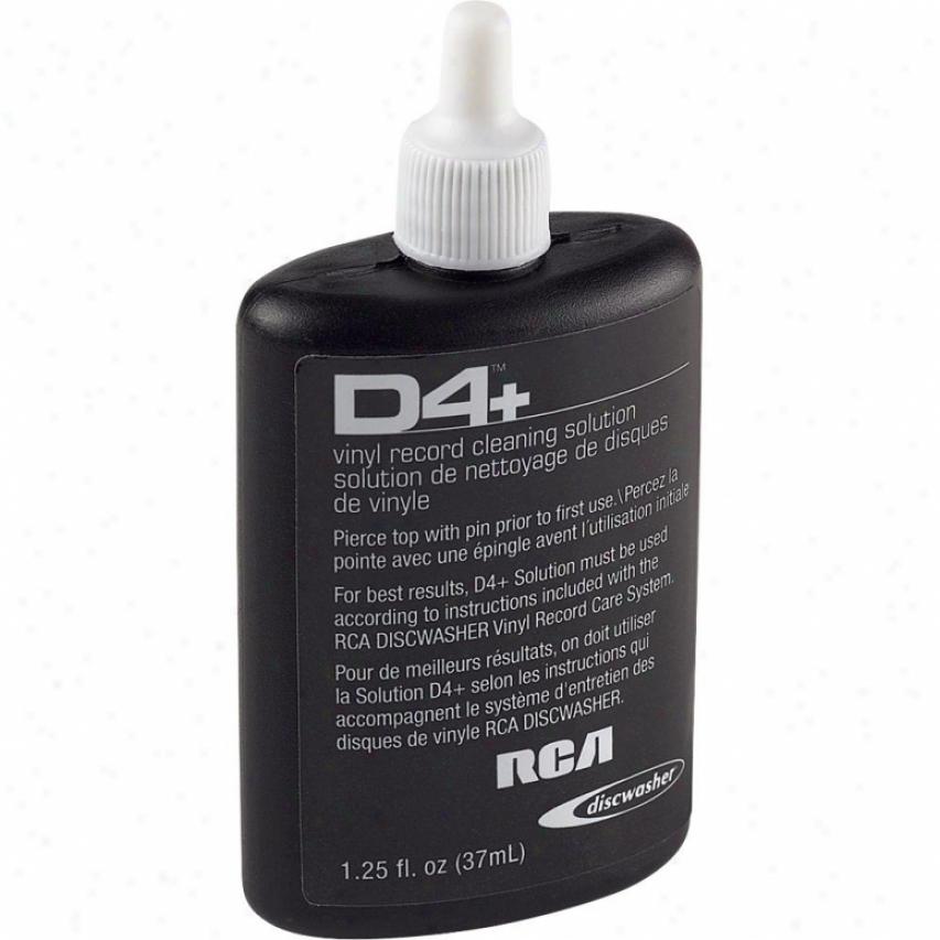 Discwasher D4 Replacement Fluid [1.25 Oz.]