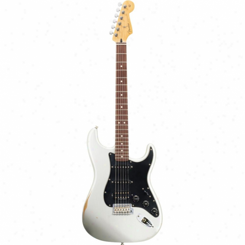 Display Model Of Fender® Road Worn Player Stratocaster® Hss Gjitar- Inca