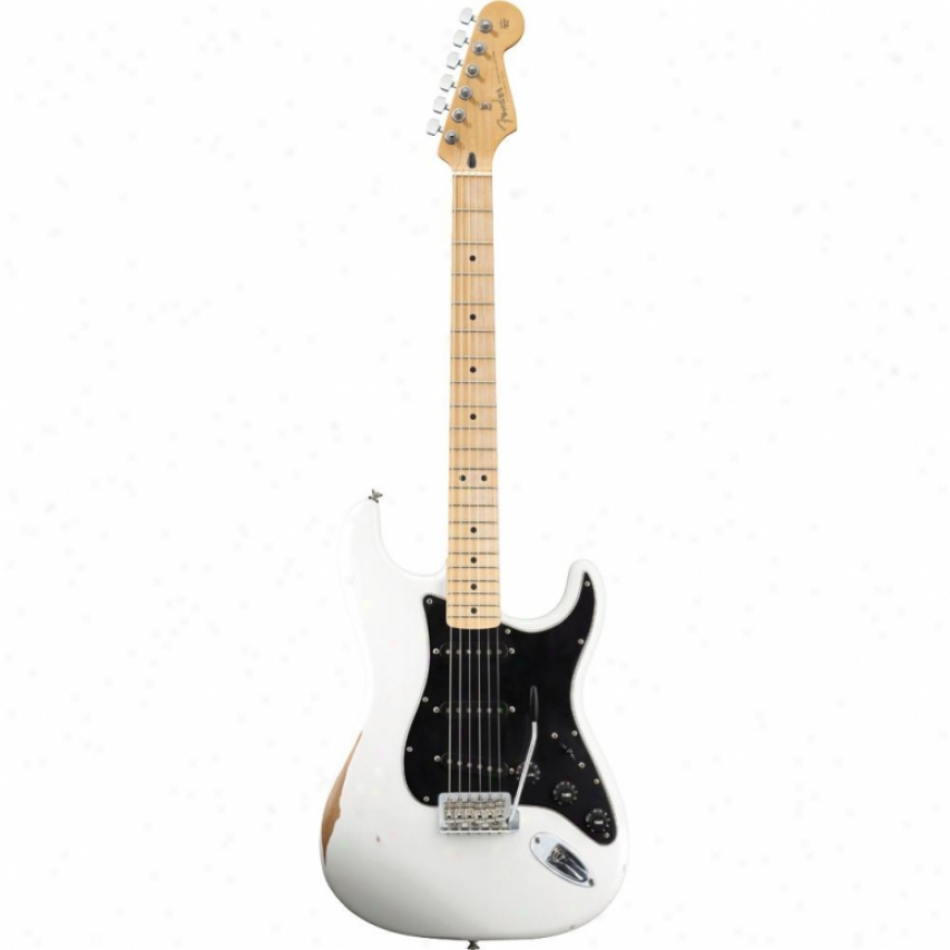 iDsplay Model Of Fender® Road Worn Player Stratocaster® Guitar - Olympic