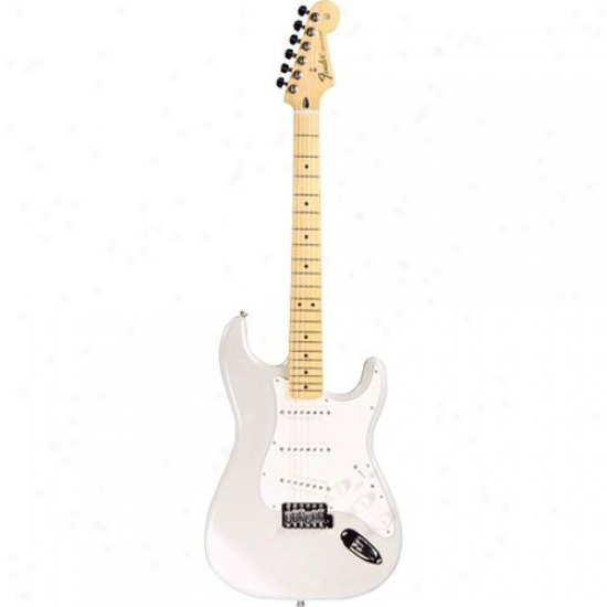 Display Model Of Fender® Standard Strat™ Guitar - White Chrome Pearl -