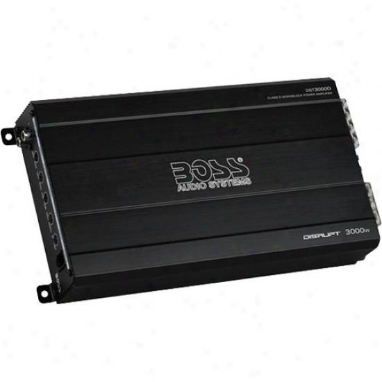 Disrupt 3000 Watts, Class D Monoblock Car Power Amplifier