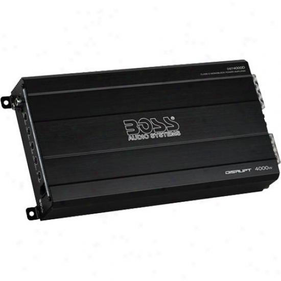 Disrupt 4000 Watts Clase D Monoblock Car Power Amplifier