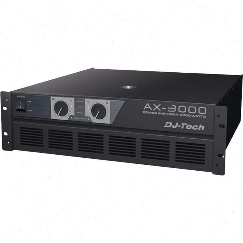 Dj-tech 3000w Power Amplifier
