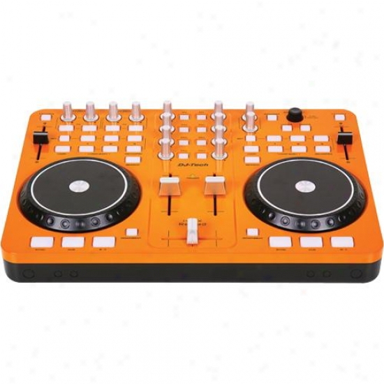 Dj-tech I-mix Reload-orange Portable Usb/midi Dj Controller