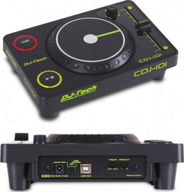 Dj-tech Usb Midi Controller & Deckadance - Cdj Style