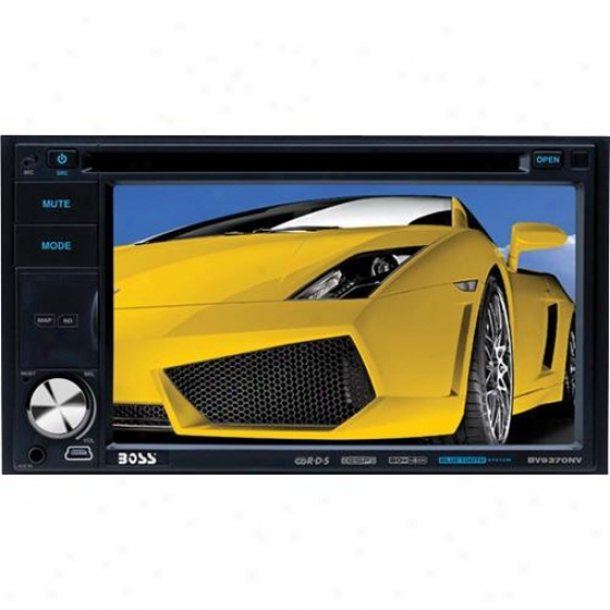 "Double-din 6.2"" Built In Navigation With Bluetooth Ipod Control"