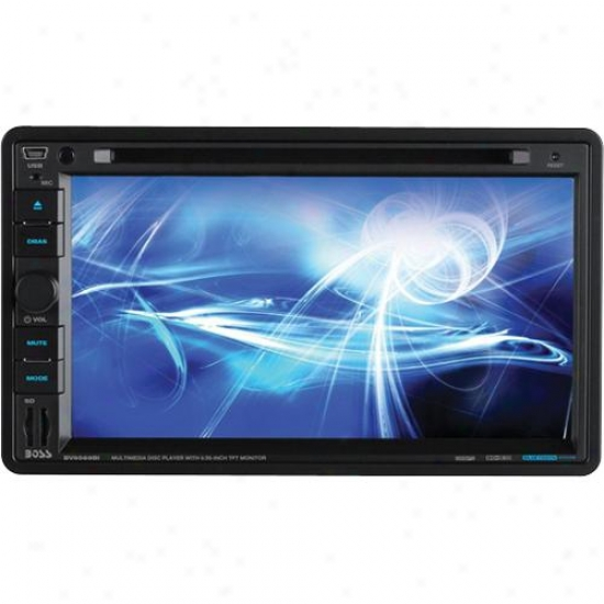 "Double Din 6.95"" Touchscreen Tft Am/fm Receiver"
