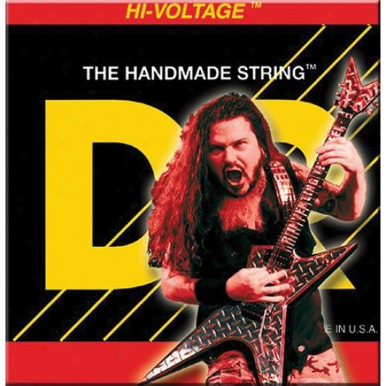 Dr Strings Dbg10 Dimebag Darrell Nickel Plted Medium Electric Guitar Strings