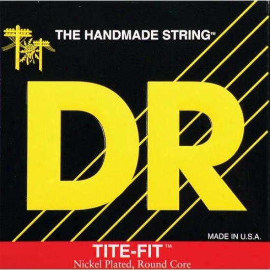 Dr Strings Lt9 Tite Fit Nickel Platted Electric Guitar Lite Strings