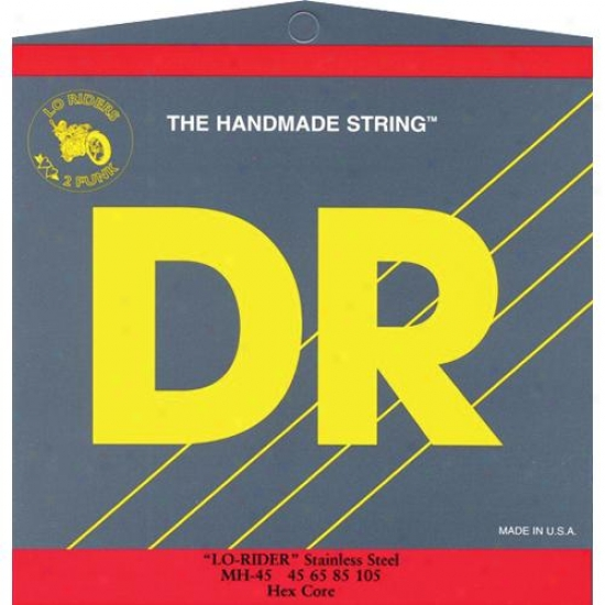 Dr Strings Mh45 Lo Rider Tite Ft Stainless Steel Medium Bass Strings