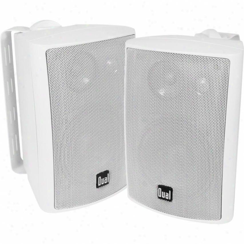 """Dual 4"""" -3way Outdoor Speakers"""