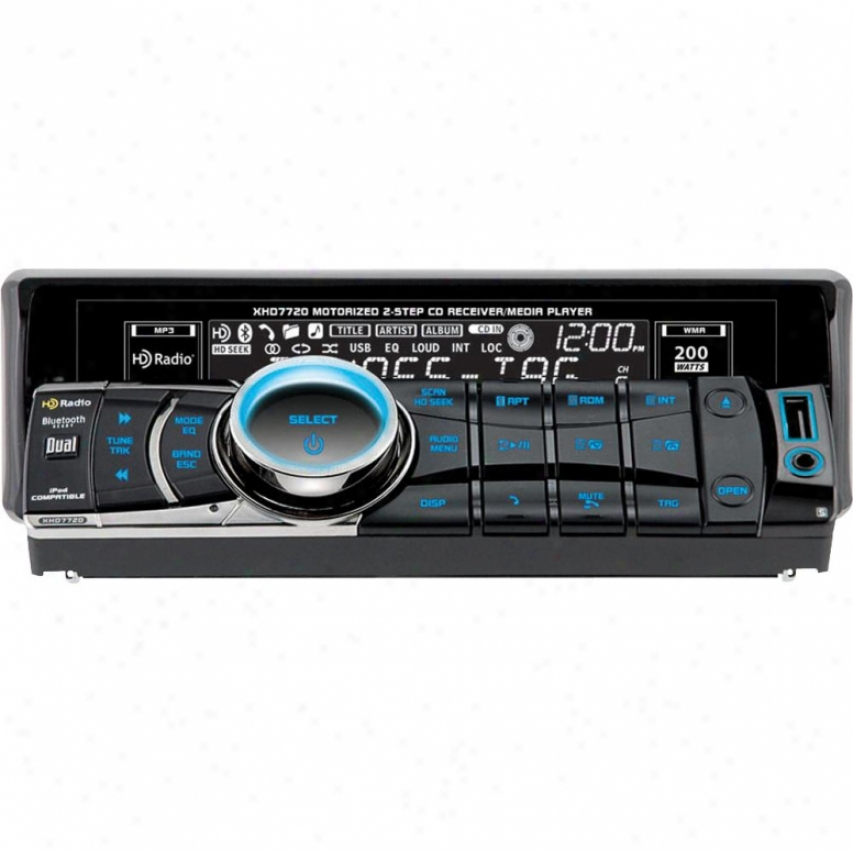 Dual Am/fm/cd Radio W/ Hd/bluetooth
