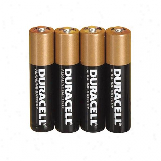Duracell Aaa Alkaline Battery (package Of 4)