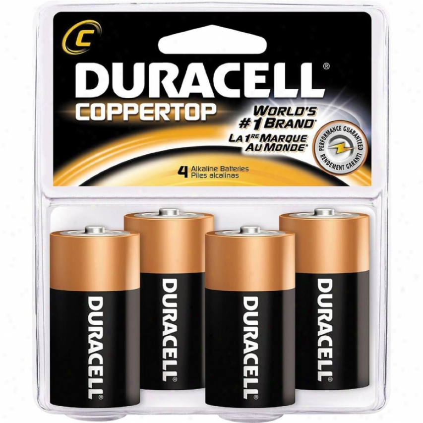Duracell C-size Battery - Pack Of 4