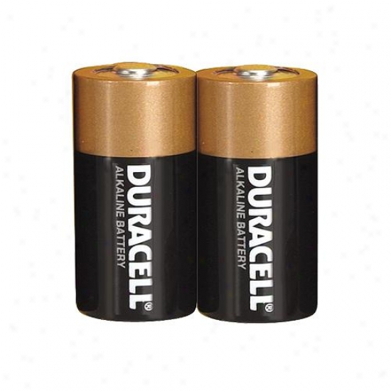 Duracell Size C Alkaline Battery (package Of 2)